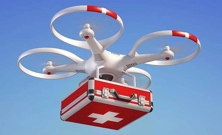 Delivering Health Care By Drone